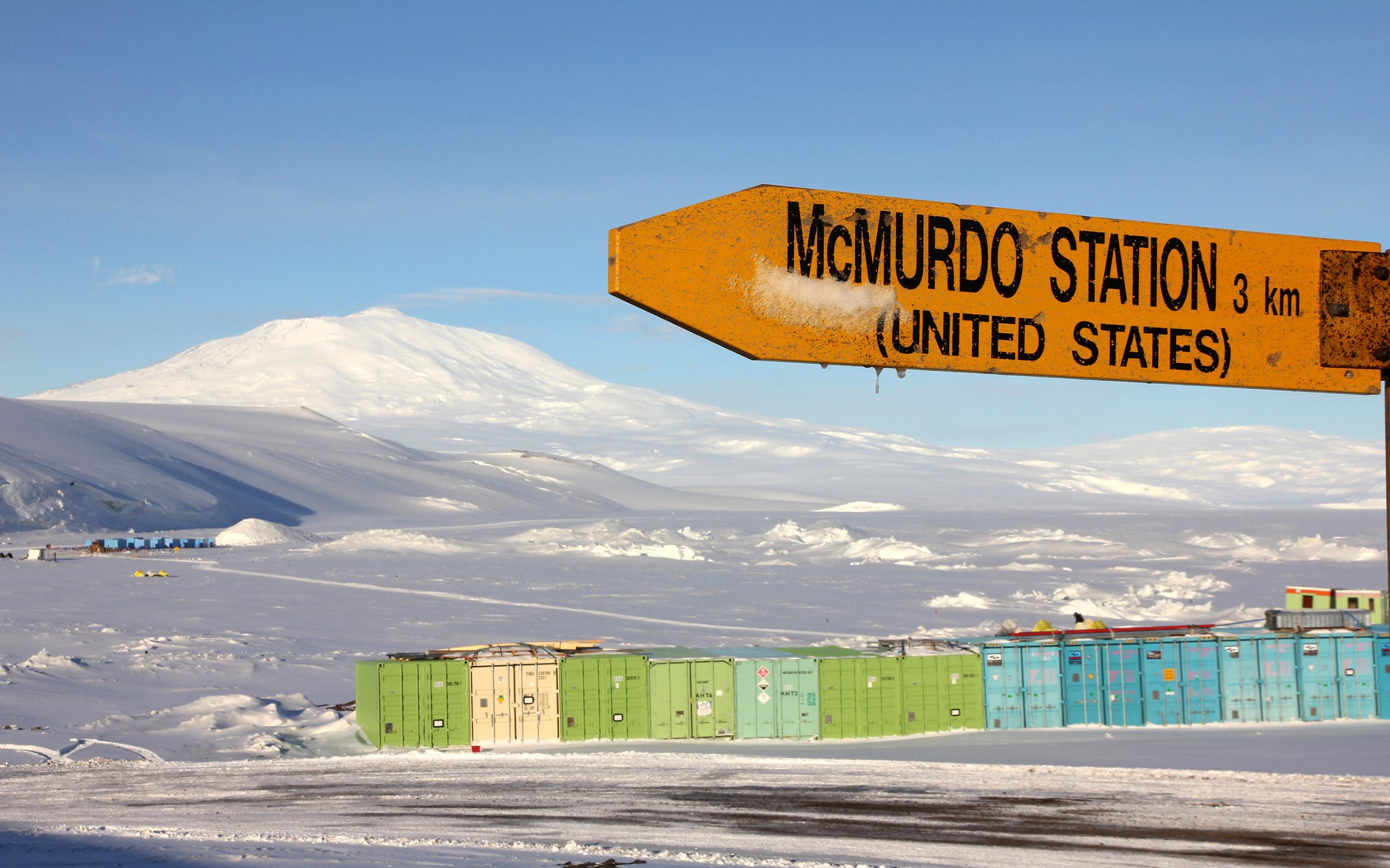 Halbumrundung der Antarktis