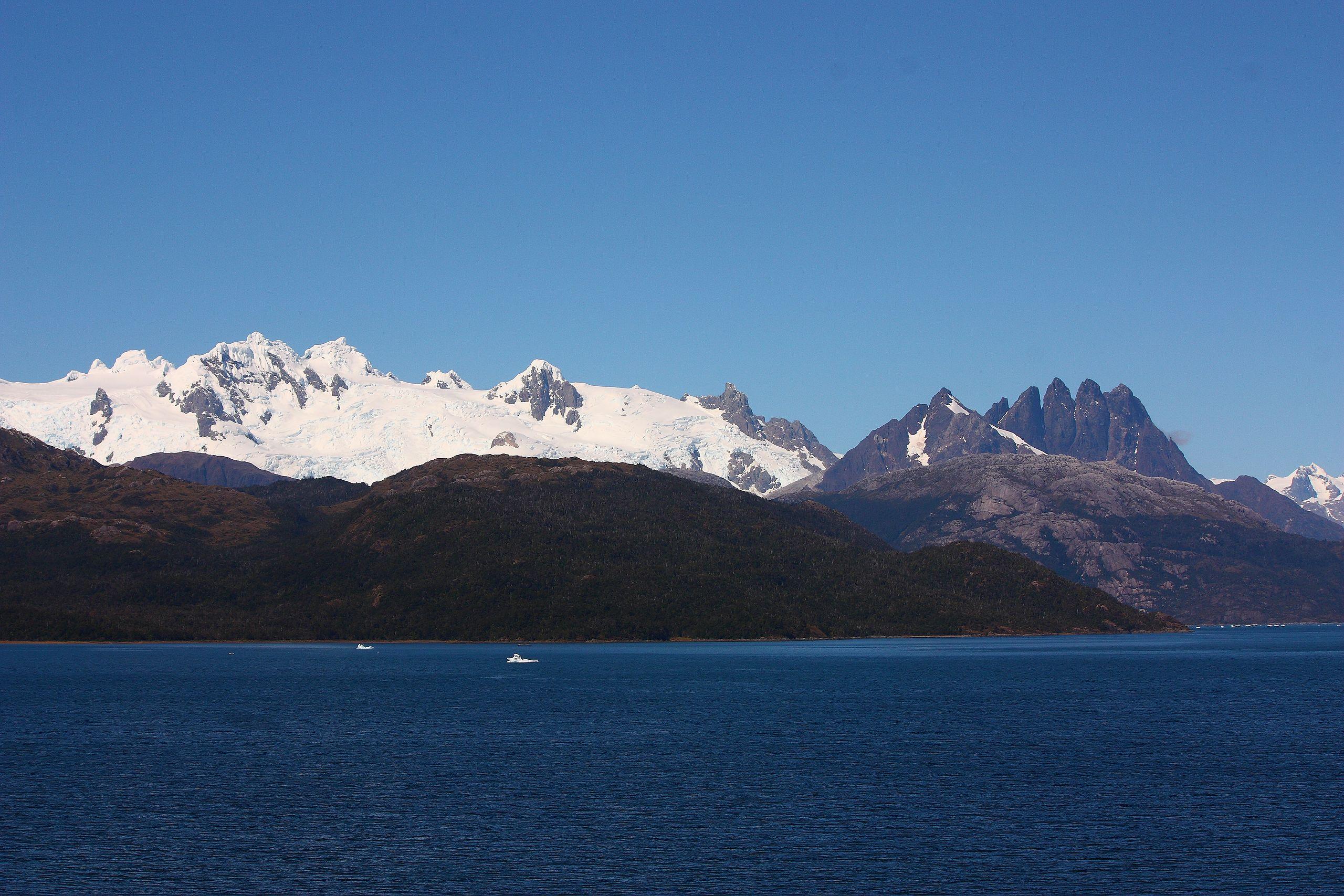 chilenische Fjorde (Darwin Kordillere, Kap Hoorn)