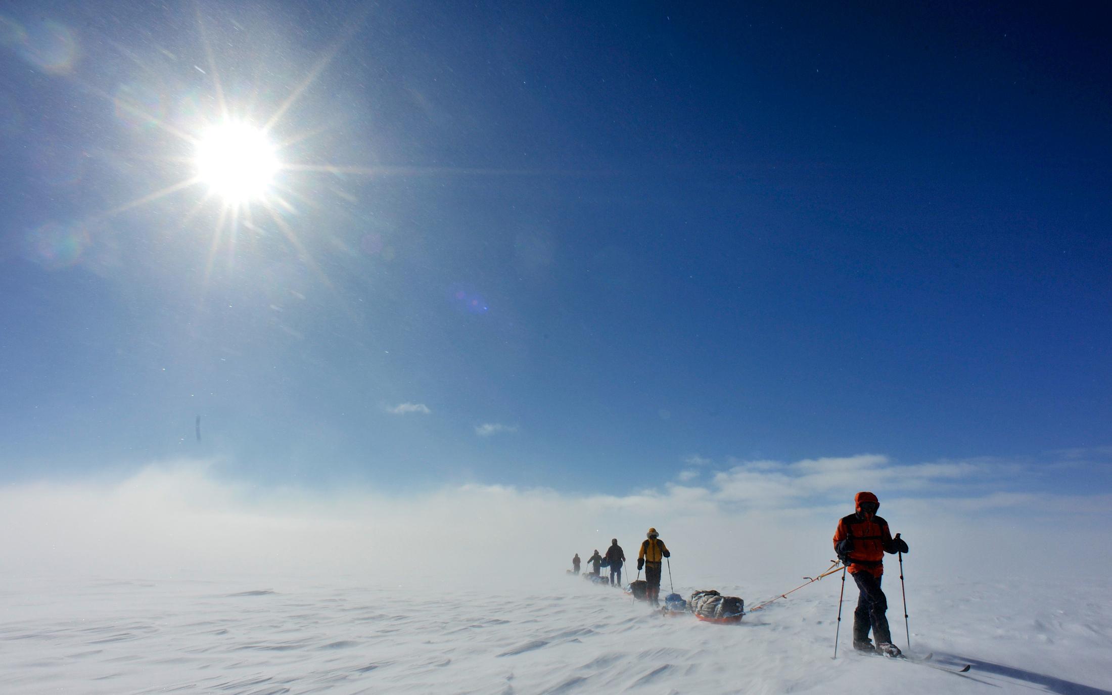 Groenland Inlandeisdurchquerungen